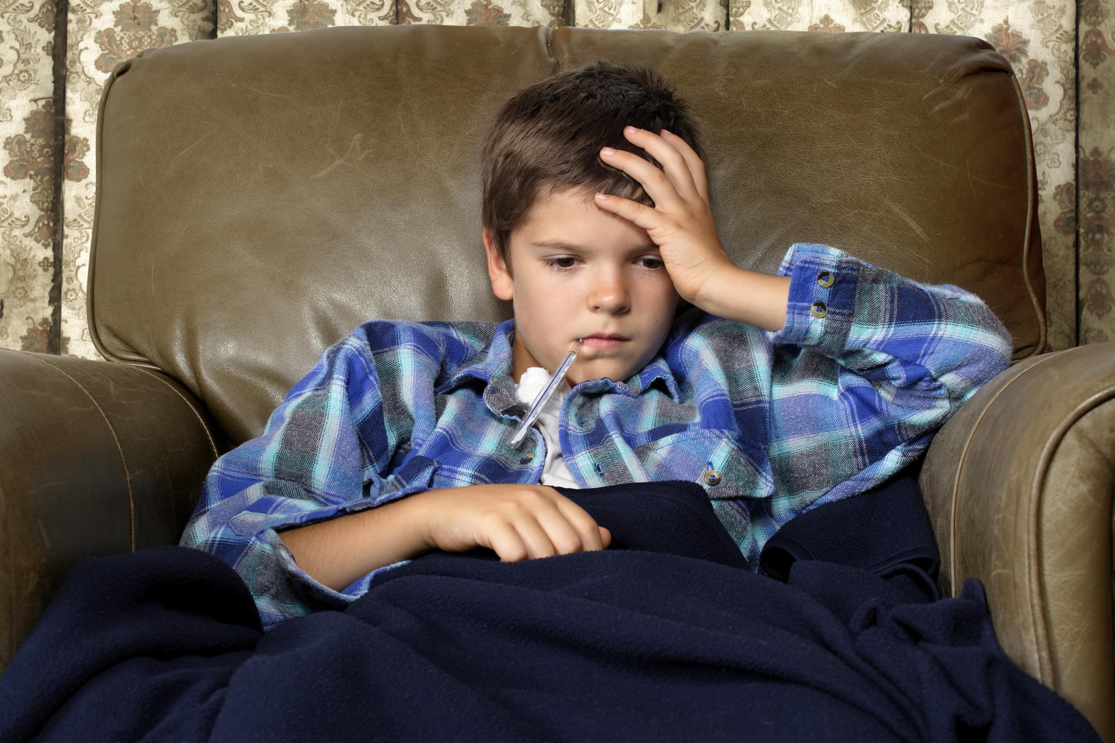 ¿Cómo entretener a los niños cuando están resfriados?