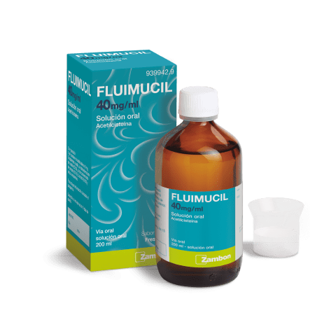 Fluimucil syrup