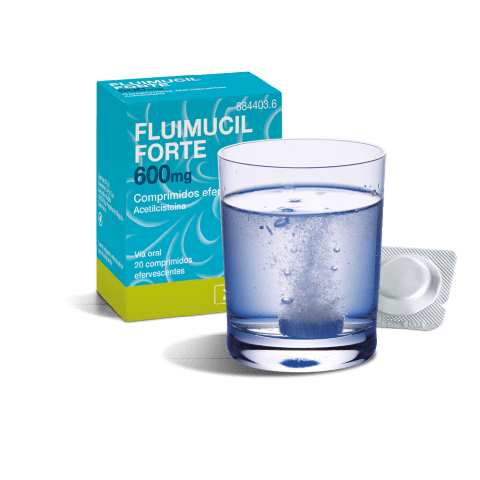 Fluimucil Forte 600mg