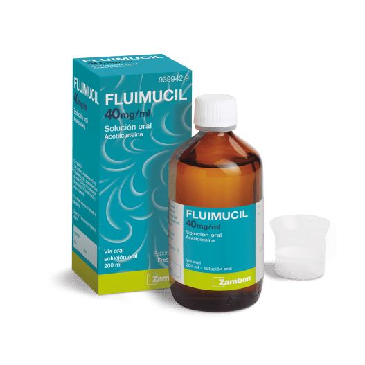 FLUIMUCIL 40mg/ml