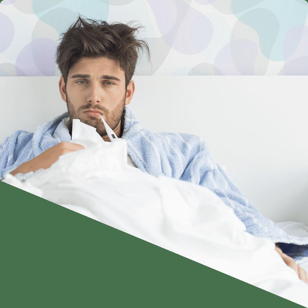 Las fases de la gripe en detalle