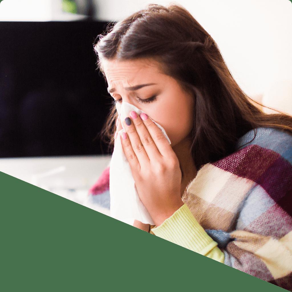 Síntomas de la tos con mocos o tos productiva